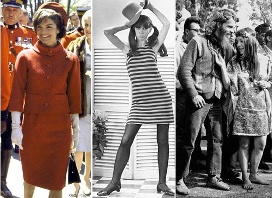 Образ 1960-х годов - мода и макияж