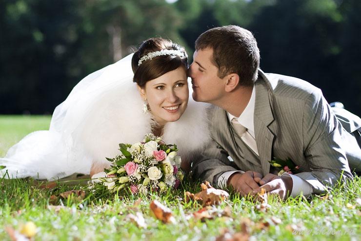 Свадебная прическа и макияж - Ирина