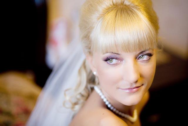 Свадебная прическа и макияж - Татьяна