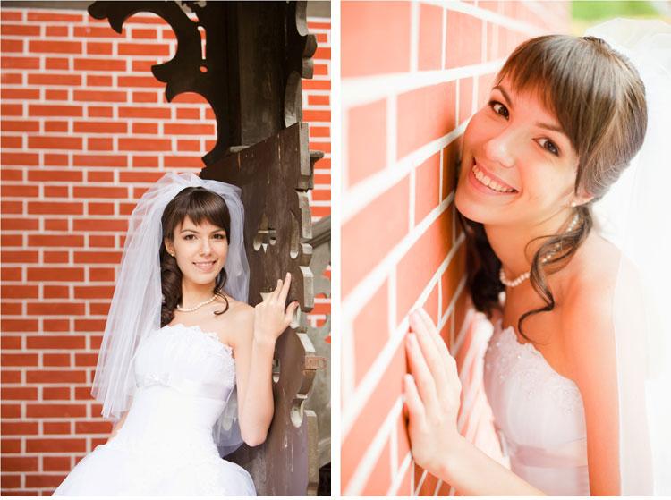 Свадебная причёска и макияж - прекрасная Лилия!