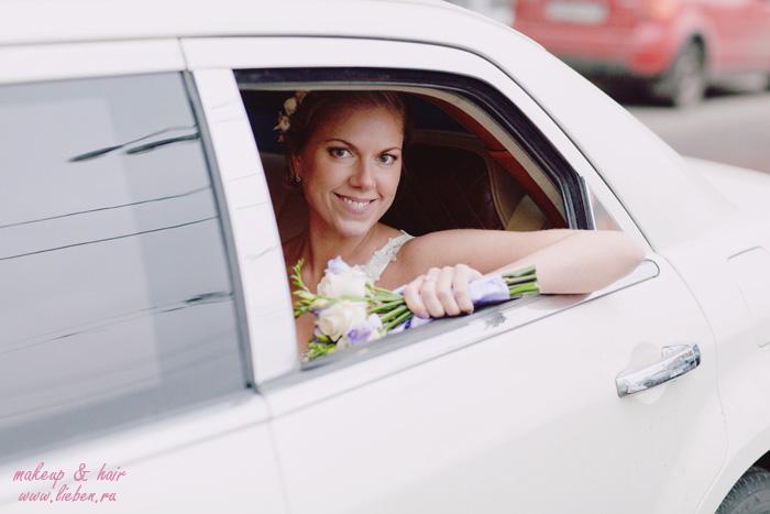Свадебная прическа и макияж - Евгения!