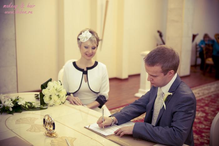 Свадебный образ для Светланы со шляпкой!