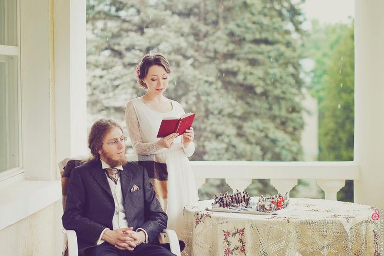 Сергей и Анна - тематическая свадьба по мотивам романа