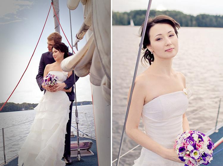 Алина и Алексей - свадьба в морском стиле!